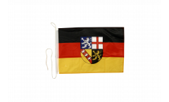 Bandiera da barca Germania Saarland - 30 x 40 cm