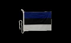Bandiera da barca Estonia - 30 x 40 cm