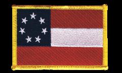 Applicazione USA stelle e strisce 1861 - 8 x 6 cm