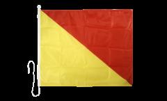 Bandiera segnaletica Oskar (O) - 75 x 90 cm