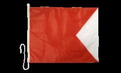 Bandiera segnaletica Bravo (B) - 75 x 90 cm
