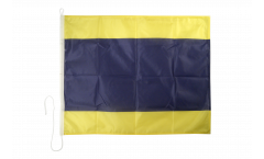 Bandiera segnaletica Delta (D) - 75 x 90 cm