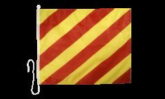 Bandiera segnaletica Yankee (Y) - 75 x 90 cm