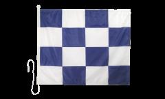 Bandiera segnaletica November (N) - 75 x 90 cm
