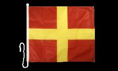 Bandiera segnaletica Romeo (R) - 75 x 90 cm