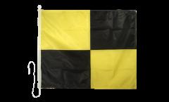 Bandiera segnaletica Lima (L) - 75 x 90 cm