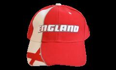 Cappellino / Berretto Inghilterra St. George, rosso-bianco, flag