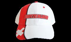 Cappellino / Berretto Svizzera, bianco-rosso, flag