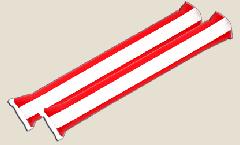 Airsticks Austria - 10 x 60 cm