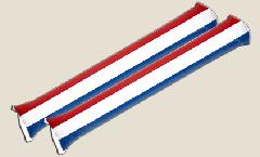 Airsticks Paesi Bassi - 10 x 60 cm