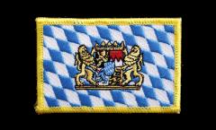 Applicazione Germania Baviera con leone - 8 x 6 cm