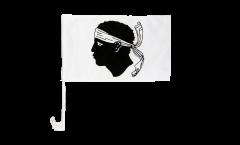 Bandiera per auto Francia Corsica - 30 x 40 cm