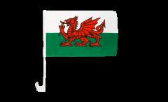 Bandiera per auto Galles - 30 x 40 cm