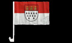Bandiera per auto Germania Colonia - 30 x 40 cm