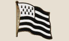 Spilla Bandiera Francia Bretagna - 2 x 2 cm