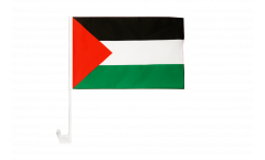 Bandiera per auto Palestina - 30 x 40 cm