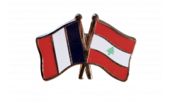Spilla dell'amicizia Francia - Libano - 22 mm