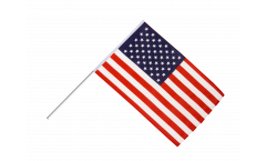 Bandiera da asta USA - 60 x 90 cm