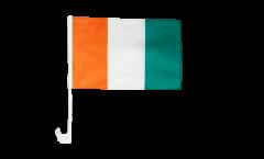 Bandiera per auto Costa d'Avorio - 30 x 40 cm