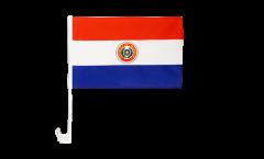 Bandiera per auto Paraguay - 30 x 40 cm