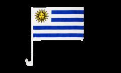 Bandiera per auto Uruguay - 30 x 40 cm