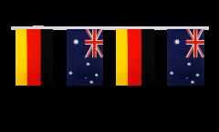 Cordata dell'amicizia Germania - Australia - 15 x 22 cm