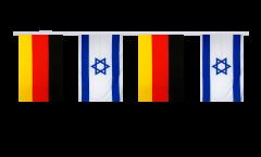 Cordata dell'amicizia Germania - Israele - 15 x 22 cm