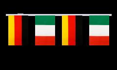 Cordata dell'amicizia Germania - Italia - 15 x 22 cm