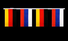 Cordata dell'amicizia Germania - Russia - 15 x 22 cm