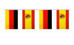 Cordata dell'amicizia Germania - Spagna - 15 x 22 cm