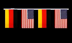 Cordata dell'amicizia Germania - USA - 15 x 22 cm