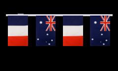 Cordata dell'amicizia Francia - Australia - 15 x 22 cm