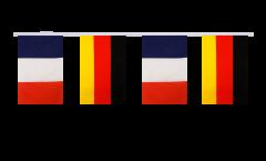 Cordata dell'amicizia Francia - Germania - 15 x 22 cm