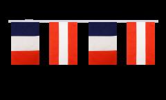 Cordata dell'amicizia Francia - Austria - 15 x 22 cm