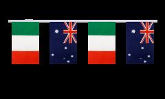 Cordata dell'amicizia Italia - Australia - 15 x 22 cm