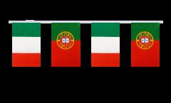 Cordata dell'amicizia Italia - Portogallo - 15 x 22 cm