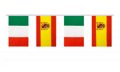 Cordata dell'amicizia Italia - Spagna - 15 x 22 cm
