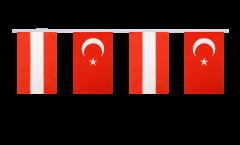 Cordata dell'amicizia Austria - Turchia - 15 x 22 cm