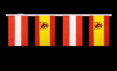 Cordata dell'amicizia Austria - Spagna - 15 x 22 cm