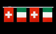 Cordata dell'amicizia Svizzera - Italia - 15 x 22 cm