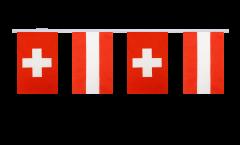 Cordata dell'amicizia Svizzera - Austria - 15 x 22 cm