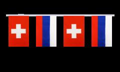 Cordata dell'amicizia Svizzera - Russia - 15 x 22 cm