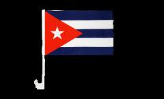 Bandiera per auto Cuba - 30 x 40 cm