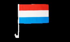 Bandiera per auto Lussemburgo - 30 x 40 cm