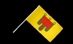 Bandiera da asta Francia Alvernia - 60 x 90 cm