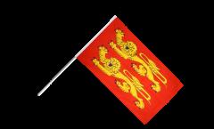 Bandiera da asta Francia Bassa Normandia, p'tits cats - 60 x 90 cm