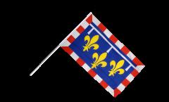 Bandiera da asta Francia Centro - 60 x 90 cm