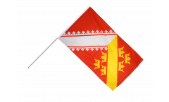Bandiera da asta Francia Alsazia - 60 x 90 cm
