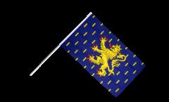 Bandiera da asta Francia Franca Contea - 60 x 90 cm