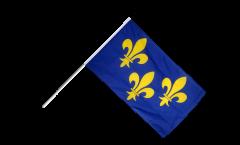 Bandiera da asta Francia Île de France - 60 x 90 cm